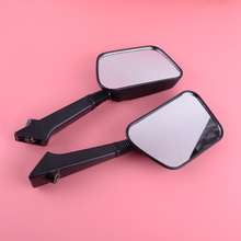 DWCX 1 Pair Black Rear View Mirror Fit for Honda Elite CF80 Aero CH80 NH80 CH125 CH150 CH150D DELUXE
