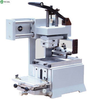 Manual Printing Machine Equipment Unit Pad Company Logo Printer 220v desktop electric pad printer machine printing machine for product date small logo print cliche plate rubber pad