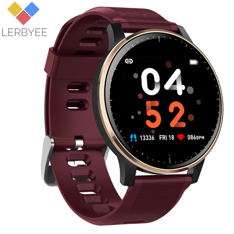 Lerbyee Smart Bracelet Q20 Heart Rate Monitor Blood Pressure Fitness Band Waterproof Color Screen Sport Smart Bracelet Hot Sale image