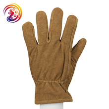 Winter Work Gloves Leather Thermal Cotton Lining Cow Split Working Glove