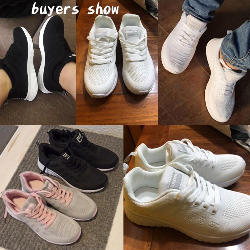 2020 New Women Shoes weightlight Sneakers Women Vulcanize Shoes Sport Basket Femme Walking White Outdoor Casual Tenis Feminino 2
