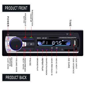 Image 3 - Hikity車ラジオautoradio 1 喧騒のbluetooth sd MP3 プレーヤーJSD 520 fm aux入力レシーバsd usb