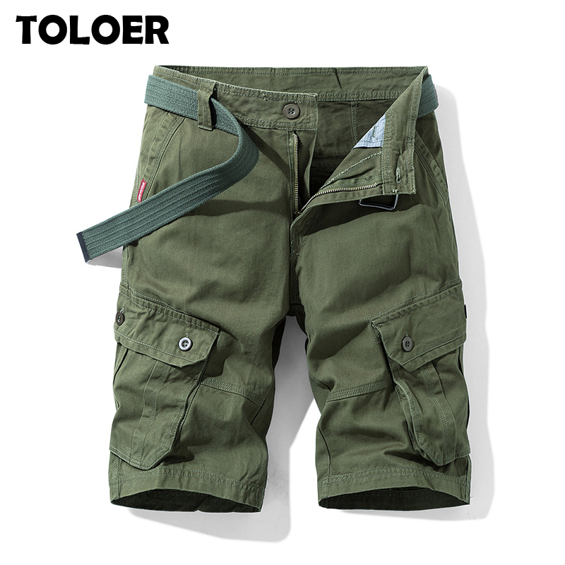 Men Multi-Pocket Cargo Shorts Summer Male Fashion High Quality Streetwear Joggers Shorts Men''s Hip Hop Casual Short Pants Homme