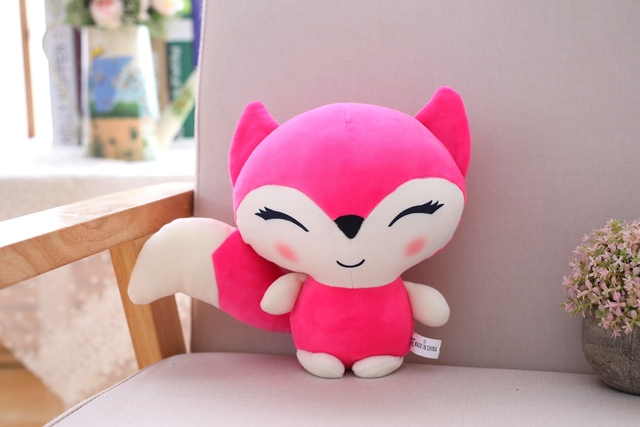 epacket 23cm Kawaii Dolls Fox Plush Stuffed Animals Toys for Girls Children Boys Toys Plush Pillow Foxes Stuffed Soft Toy Doll