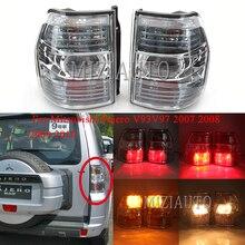 цена на MIZIAUTO Rear Tail Light for Mitsubishi Pajero V93 V97 2007 2008 2009 2010 Brake Light Rear Bumper Light Tail Stop Lamp Warning