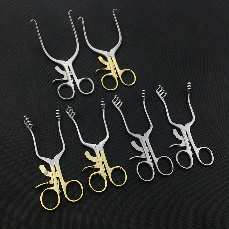 Veterinary Instruments Weitlaner Retractor Self-Retaining Orthopedics Retractors Blunt Wound Blunt Head Pointed Head