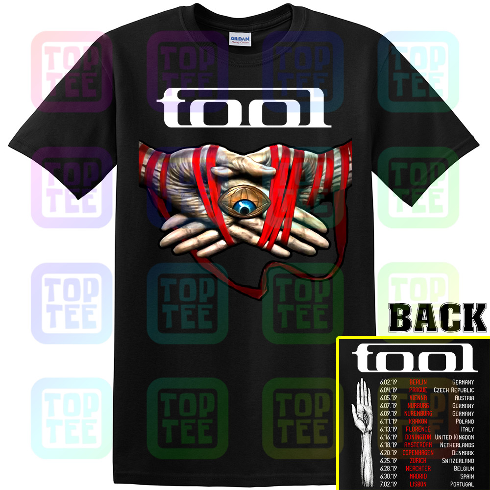 28 TOOL Band 2019 Tour with dates T-shirt Size S 2XL