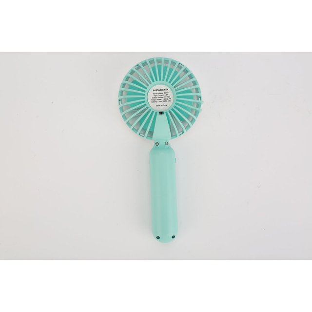 Mini USB Fan Portable Handheld Ventiladors Rechargeable Built-in Battery Handy Air Cooling Fan For Outdoor Home