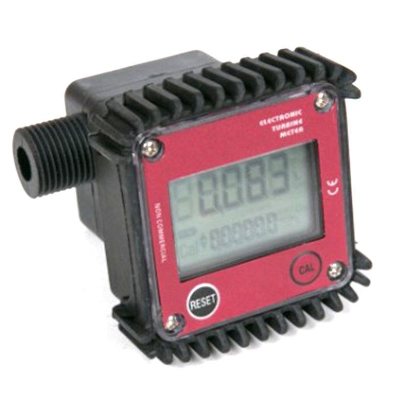 K24 Small Flow Gear Flowmeter 4 Points 19mm External Thread Fuel Water Urea Liquid Meter Flow Meter|Flow Sensors| |  - title=