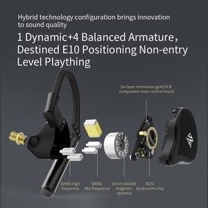 Image 3 - KZ E10 TWS 1DD + 4BA pilotes hybrides écouteur Bluetooth Aptx/AAC/SBC apt x V5.0 casque Bluetooth QCC3020 écouteurs antibruit