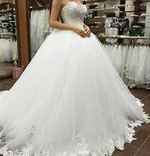 Sexy Women Simple Vintage Suknia Slubna Bridal Dress 2019 Wedding Plus Size