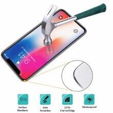 20 шт 9H для iphone x XS Max XS XR Закаленное стекло Защитная пленка 2.5D не полное покрытие экрана
