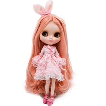 купить Neo Blyth Doll NBL Customized Shiny Face,1/6 BJD Ball Jointed Doll Ob24 Doll Blyth for Girl, Toys for Children BNL09 дешево