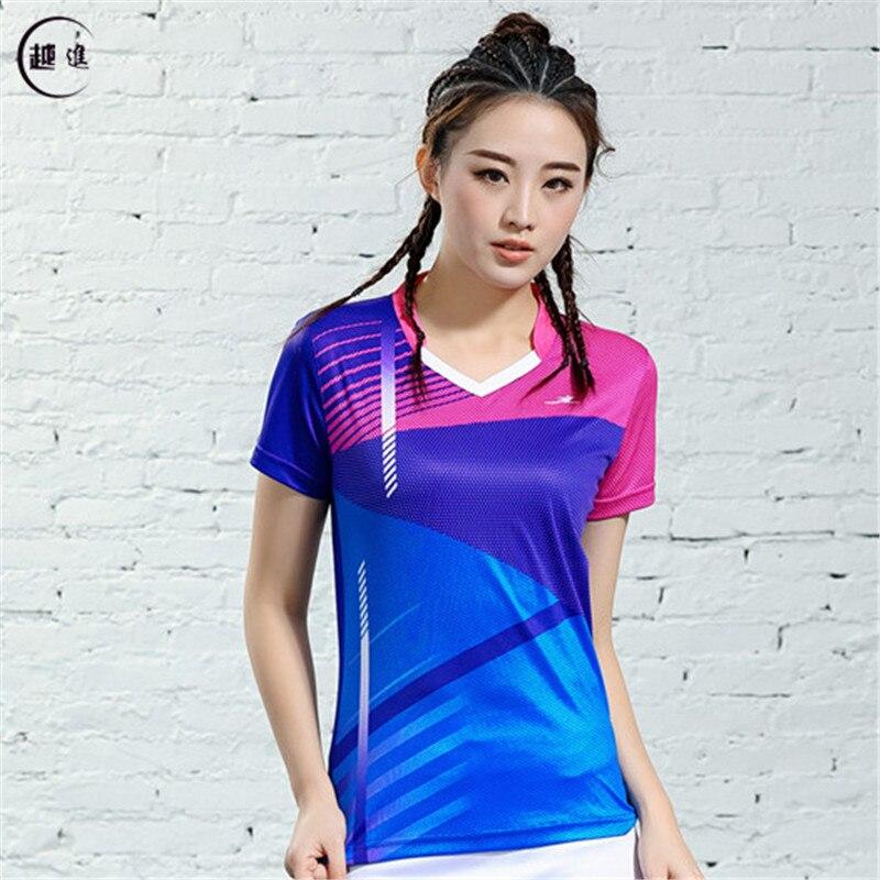 V-образная горловина, короткий рукав, форма для настольного тенниса, один топ для мужчин и женщин, летняя одежда для учеников средней школы, студентов средней школы - Цвет: B2618female