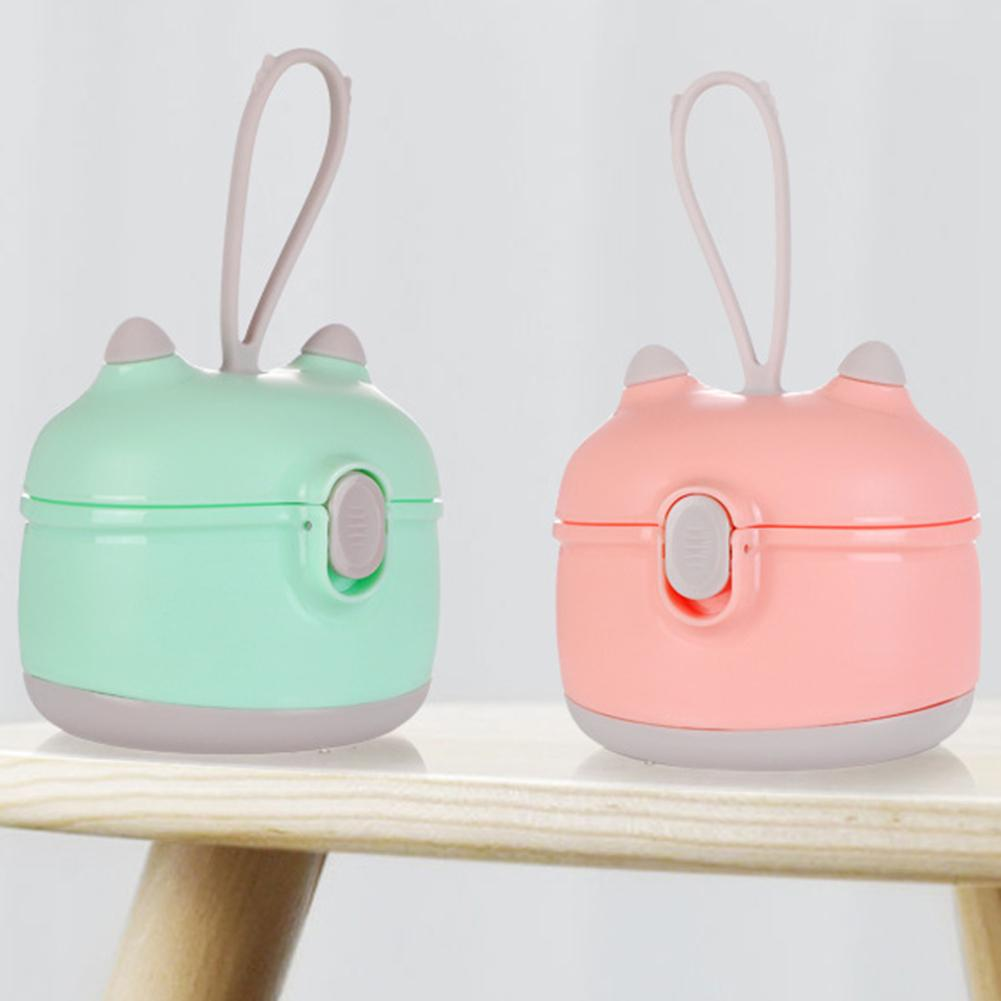 Cartoon Portable Feeding Milk Powder Storage Box Dispenser Bottle Container Cartoon Appearance Small Size Easy To Carry Gifts
