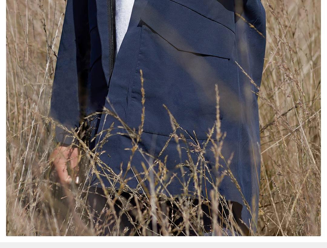 ar livre pano 90% algodão impermeável casacos com capuz