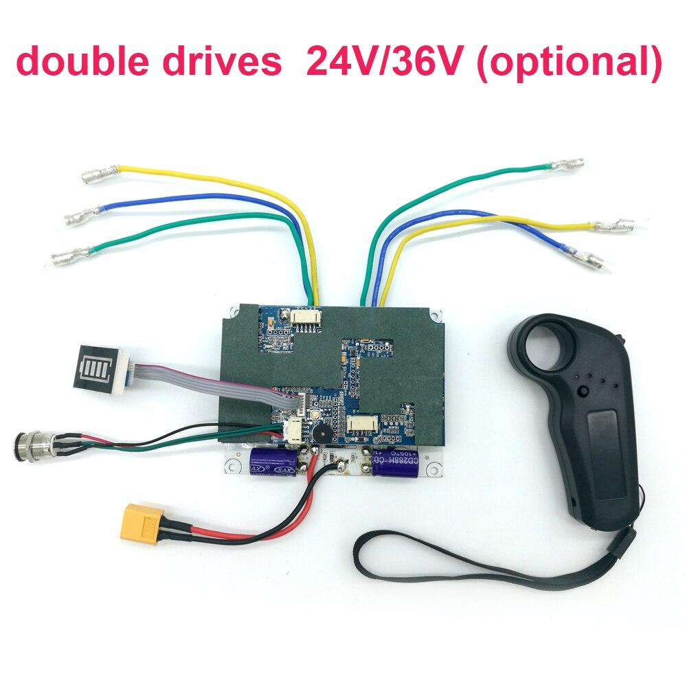 Universal Motor Electric Skateboard Longboard Drive Controller Hub Motor Mini Remote Control Accessories Control Board
