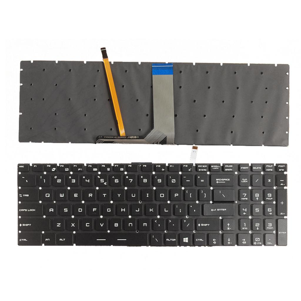 For MSI GE62 GE72 GS60 GS70 GT72 GS60 GS70 WS60 Spanish Keyboard Backlit