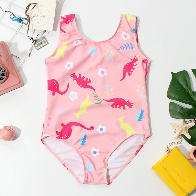 Special Offer GIRL'S One-piece Swimming Suit Cartoon Cute CHILDREN'S Swimwear Swimwear