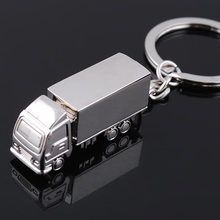 Porte-clés en métal pour homme et femme, breloque créative, porte-clés de voiture et camion, anneau de sac, pendentif, cadeau, bijoux, bibelot, Souvenirs