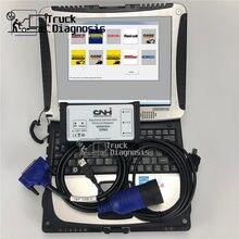 Cf19 portátil + 9.2 cnh est, cnh est kit de diagnóstico para nova holland caso ferramenta diagnóstico do varredor dpa5 cnh ferramenta serviço eletrônico