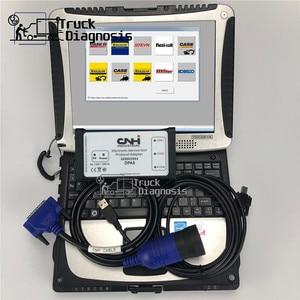 Image 1 - CF19 ordenador portátil + 9,2 sotfware CNH Est, sotfware CNH Est kit de diagnóstico para New Holland case, herramienta de escáner de diagnóstico dpa5 cnh, servicio electrónico