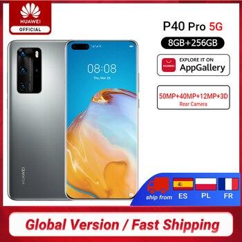 Купить дюймSVETLO3000дюйм-over 507$ off 42$,Глобальная версия Huawei P40 Pro 5G 8 Гб 256 ГБ Kirin 990 смартфон 50MP Quad Camera 6,58 ''90 Гц экран 40 Вт SuperCharge