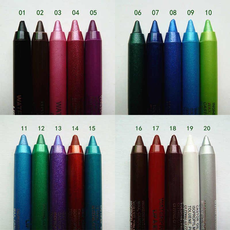 12 色ペンシルグリッターマットアイシャドウパレット化粧光輝性顔料スモーキーアイシャドウパレット防水化粧品