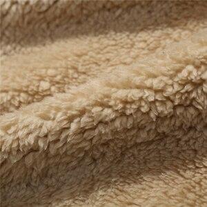 Image 5 - Ensemble de survêtement épais chaud pour homme, survêtement masculin, sweater à capuche cachemire, XS 4XL