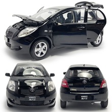 Car-Diecast-Vehicle Model-Car Yaris-Alloy Toyota 1/18 Simulation Gift-Collection 1:18-Scale