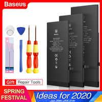 Bateria baseus para iphone 8 7 6s plus 5 5S 5c 6plus 7plus 8 mais substituição batterie original para iphone7 iphone6