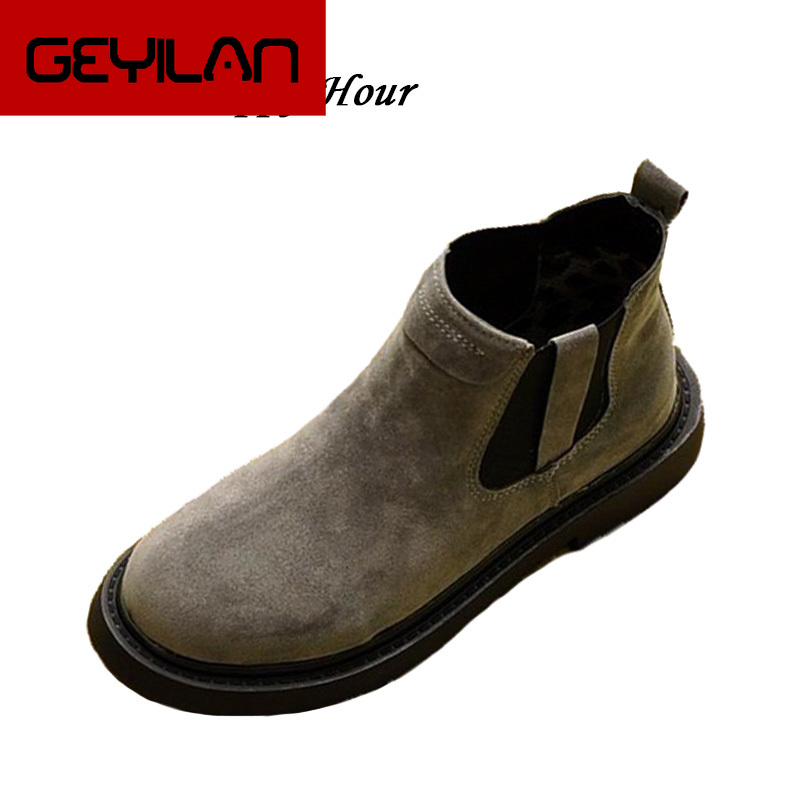 New 2019 Autumn Winter Shoes Women Chelsea Boots Warm Plush for Cold Winter Fashion Womens Ankle Boots Ladies Brand Shoes ZH2248