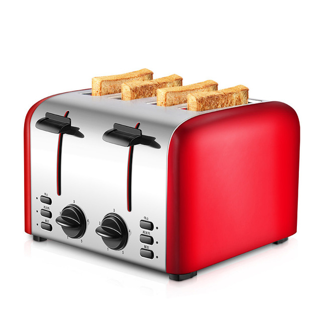 Commercial 4-slice Toaster Breakfast Machine Fully Automatic Toast Maker Household Bread Roasting Machine TR-2202 6
