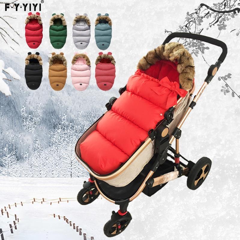 0-24 Months Baby Sleeping Bag Stroller Sleeping Bag Spring Winter Warm Sleepsacks Robe Infant Thick Warm Envelopes