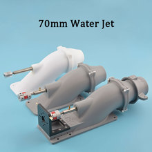 70mm Jet Water Thruster with 5/6mm Stainless  Shaft  Couplings 8X5/6mm For Boat Surfboard Rc Model Boat