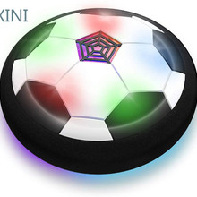 Toys Soccer-Ball Hover Led-Light Air-Floating Colorful Sport Kids with
