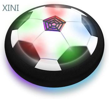 Zabawki Hover piłka do piłki nożnej zasilanie bateryjne powietrze pływające Sport piłka nożna z kolorowe diody LED Light Sport i rozrywka gry dla dzieci tanie i dobre opinie CN (pochodzenie) Przyklejony sucker ball Z tworzywa sztucznego
