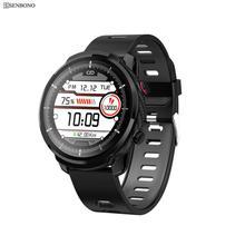Senbono 2020 S10plus Sport Full Touch Mannen Smart Horloge IP67 Waterdicht Hartslag Fitness Tracker Klok Smartwatch Voor Ios