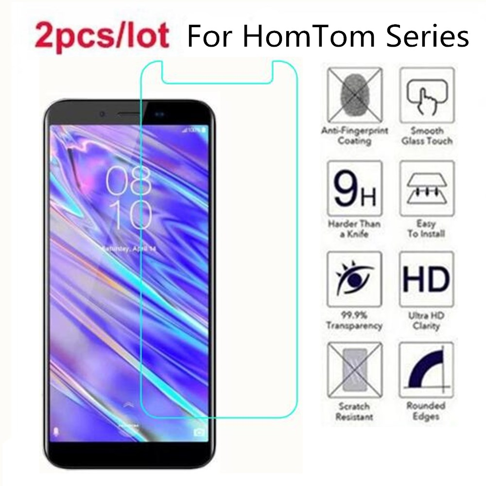 Tempered Glass For <font><b>HomTom</b></font> C1 C2 Lite 2.5D Premium Screen Protector Film On For <font><b>HomTom</b></font> S99i C13 C2 <font><b>S17</b></font> S8 S7 S12 S16 C8 HT16S image