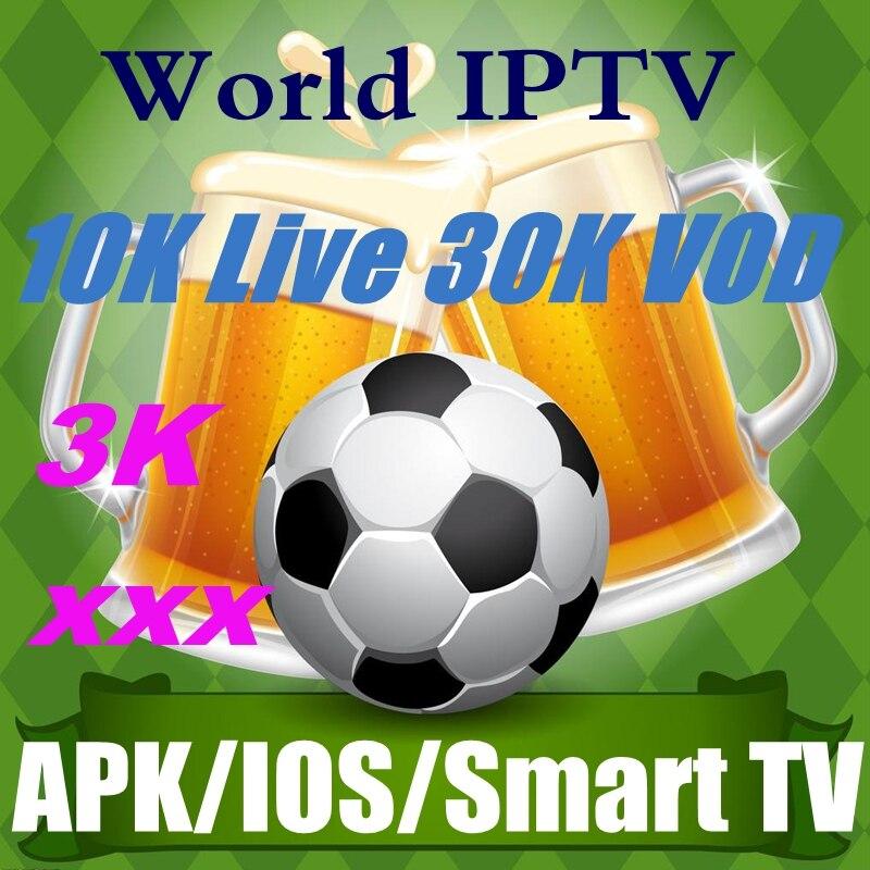 European Germany Sweden Italy VOD Iptv M3u Subscription 1 Year Greek France German Spain UK IPTV EX YU Albanian Live Europe
