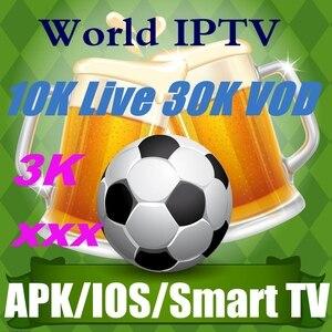 IPTV 10000 + Live VOD 3000 adulte xxx arabe Portugal espagne etats-unis France M3U polonais IPTV pologne allemagne 12 mois suède grec