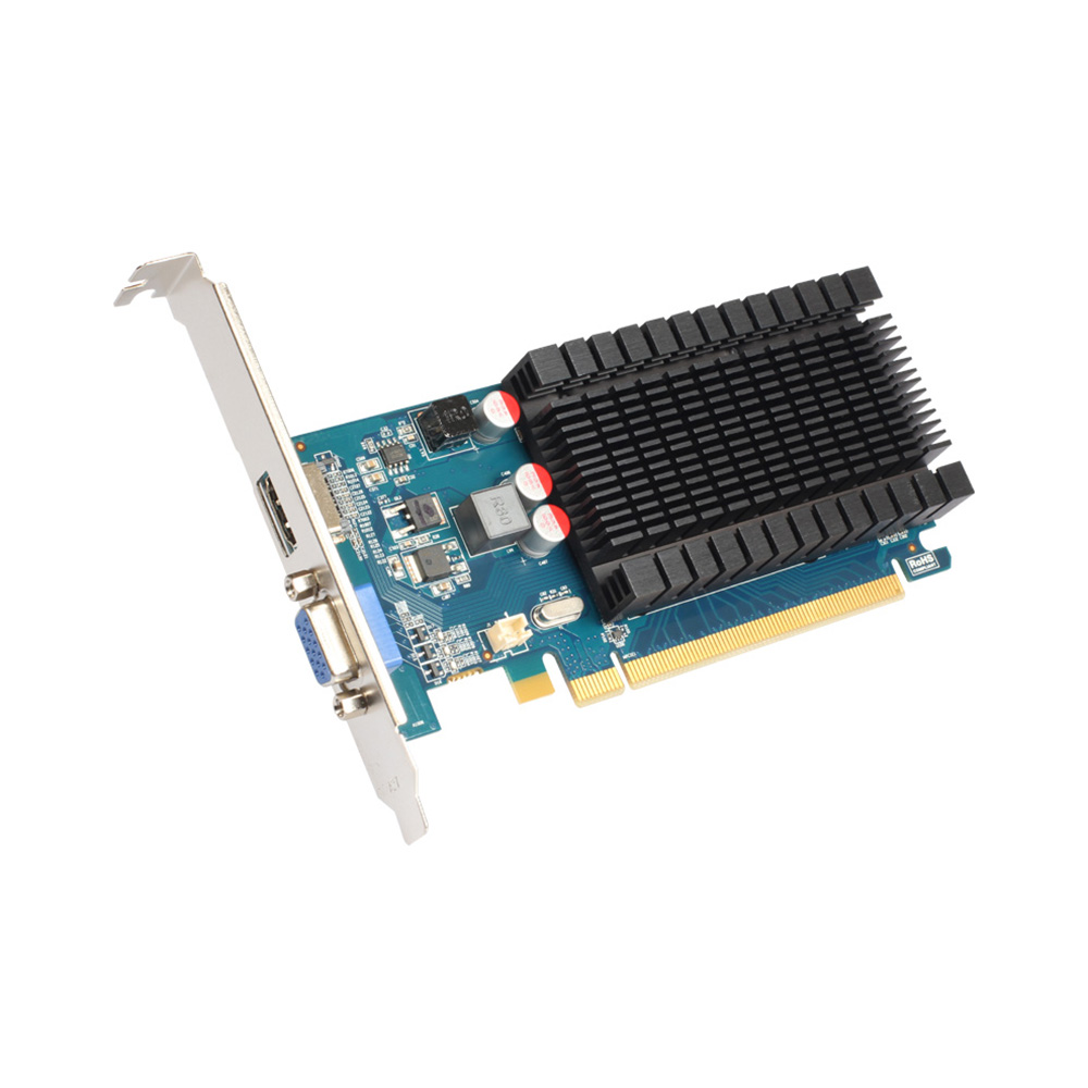 Yeston Graphics-Cards Half-Height 64BIT/GDDR3 HDMI/VGA R5 D3 230-1g Low-Power-Consumption-Gpu title=