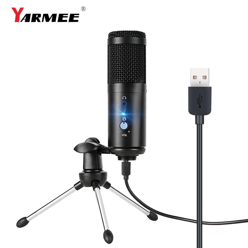 Купить конденсаторный usb микрофон конденсаторный компьютер для пк