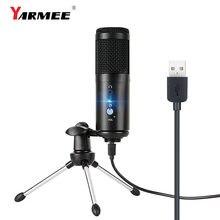Конденсаторный usb микрофон конденсаторный компьютер для ПК
