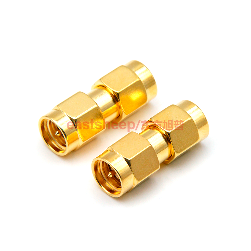 eastsheep SMA-JJ Adapters Male to Male Plug RF Coaxial Adapter Connector plug to plug sma connectors 2