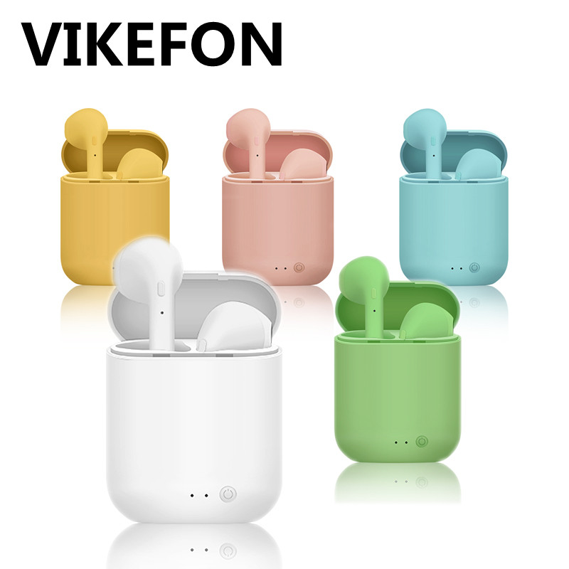 Mini-2 TWS Wireless Earphones Bluetooth 5.0 Headphones Sports Earbuds Headset With Mic Charging Box For iPhone Xiaomi PK i9s i7s(China)