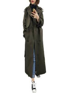 Classic Trench-Coat Windbreaker Belt Female Long Double-Breasted Fashion Fall/autumn