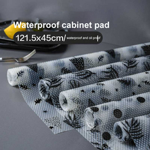45X122 Cm Drawer Mat Oil-proof Moisture Kitchen Table Shelf Liner Mats Cupboards Pad Paper Non Slip Waterproof Closet Placemat