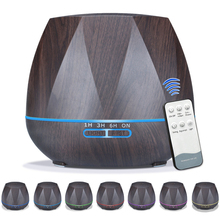 Humidifier Essential-Oil-Diffuser Breathing 3 500ML with Remote-Control Mood-Light Colorful