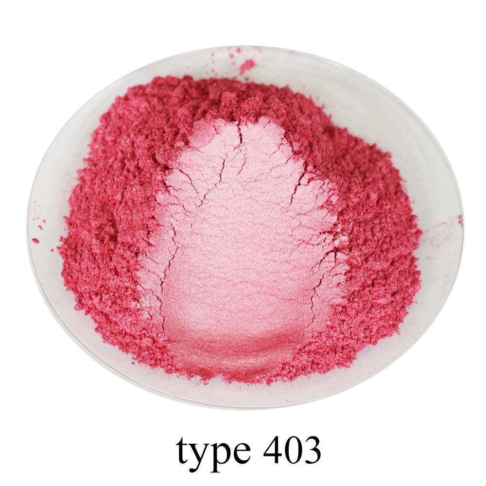 Pearl Powder Coating Mineral Mica Dust DIY Dye Colorant 50g Type 403 For Soap Eye Shadow Cars Art Crafts Acrylic Paint Pigment